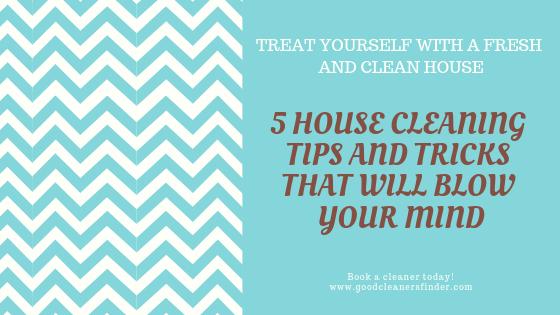 5 Tipps und Tricks zur Hausreinigung, die Sie begeistern werden