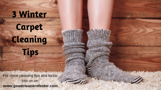 3 Winter Carpet Cleaning Tips