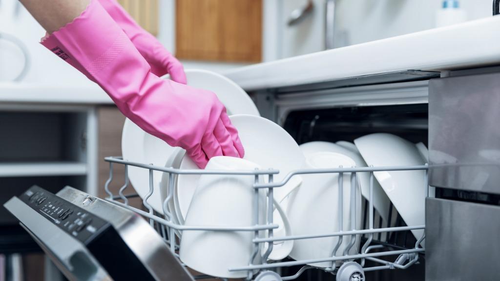Wie man eine Geschirrspülmaschine reinigt