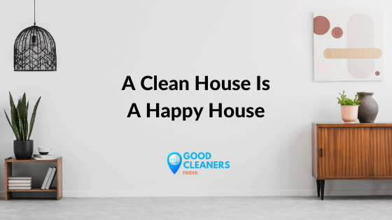 Outstanding benefits of a clean house